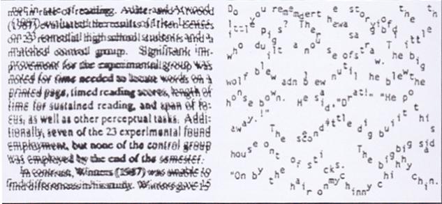 Fixatie disparatie of dyslexie