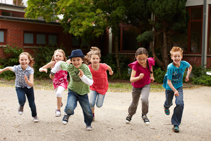 kinderen in beweging